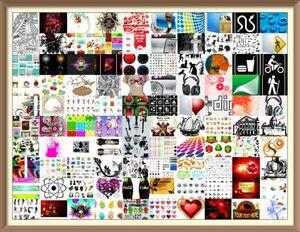 EPS AI PS/アイコン 背景 パターン ロゴ関係 ベクトル編集 データ素材集 10万種/ 加工 素材 デザイン イラスト / Illustrator Adobe 花子に