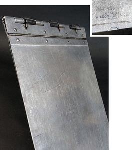 1940's ビンテージ アルミ製バインダー/工業系/ファイル/o.c.white/gras/店舗什器/デスク/椅子/アンティーク/照明/ランプ/事務/レジ/看板