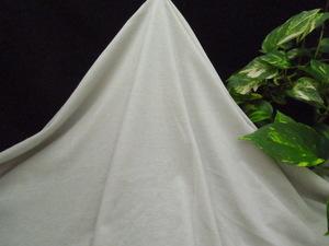新入荷!掘り出し品!高級ブランド!なかなか手に入らない!糸細上質綿100%!強撚糸サラサラニット!ホワイトリリー170cm巾1,5m
