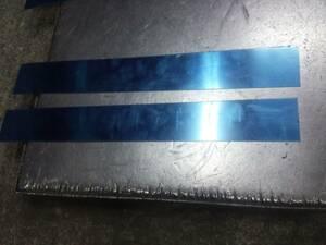 ステンレス端材 0.8ミリ厚約595×79、595×74