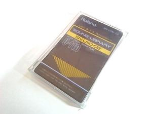 ROLAND ローランド CARD LATIN FX PERCUSSIONS SN-U110-02 音源モジュール U-110 シンセ 用 拡張 カード PCM DATA ROM 宅急便対応 管理02