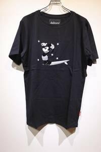 新品 daboro ダボロ Disney ディズニー ミッキー MICKEY TEE (crew hang ten front) Tシャツ カットソー BLACK 4(L)