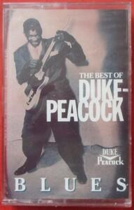 The Best Of Duke-Peacock Blues デューク・ピーコック オムニバス カセットテープ 輸入盤 カセットテープ 未開封/カット盤