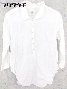 ◇ REPLAY リプレイ 長袖 ポロシャツ XS ホワイト系 * 1002799906456