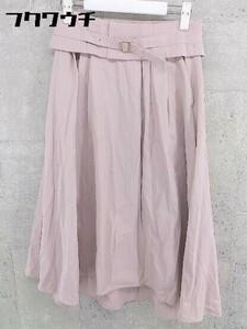 ◇ ●新品● ◎ studioclip スタジオクリップ タグ付き ロング フレア スカート サイズ38/M ピンク レディース