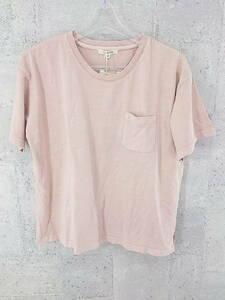 ◇ ●未使用● studioclip スタジオクリップ タグ付 半袖 Tシャツ カットソー M ピンク # ◆ 1002796536694