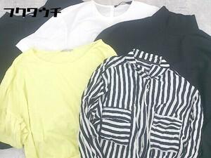 ◇ ZARA ザラ まとめ売り5点セット サイズS&M シャツ ブラウス カットソー レディース