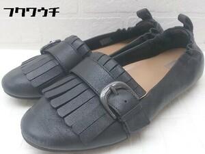 ◇ FitFlop フィットフロップ スニーカー シューズ サイズ37.5 ブラック レディース