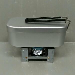 自動炊飯セット メスティン ストーブ 固形燃料 飯盒
