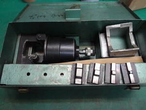■産機興業 カクタス 油圧ヘッド 分離式 圧着 工具 D-9 ヘッド部 【9】