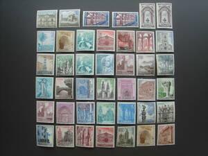 スペイン切手 城 未使用
