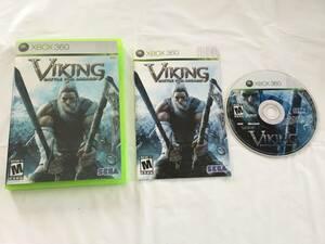 ☆北米版☆ 0619-053 XBOX360 VIKING BATTLE FOR ASGARD バイキング 動作確認済み