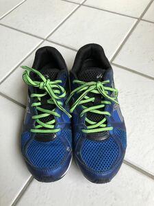 アシックス レーザービーム スニーカー 運動靴 24センチ
