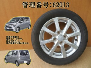 ムーヴ LA100S 155/65R14 アルミホイール/タイヤホイール 1本