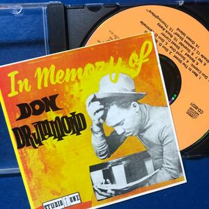 In Memory Of Don Drummond (CD)
