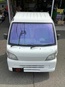 ハイゼットトラック S200 S210 ゴースト2 ネオ オーロラ79 フィルム フロントガラス カット済み 熱成形済み 一枚貼り フィルム 東京