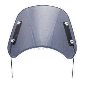 メーター/スクリーン/バイザー ヘッドライトバイザー ヘッドライトスクリーン ビキニカウル スモーク GSX400 インパルス GK79A
