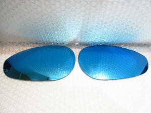 FIAT 500/595/695*ALFA 4C wide * blue mirror / paste type [Euro Gear/ euro gear made ] new goods / Fiat / made in Japan /