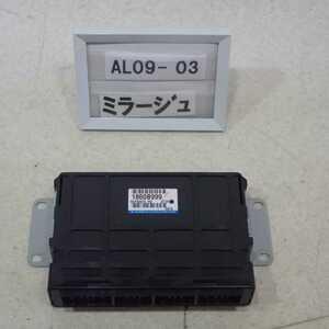 平成24年 ミラージュ A05A 前期 純正 エンジンコンピューター ECU 3A90 1860B999 中古 即決