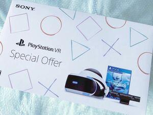 新品未開封 [SONY PlayStation VR Special Offer WORLDS同梱版 プレイステーション スペシャルオファー CUHJ-16011 PS4]