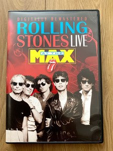 The Rolling Stones Live At The Max 日本盤帯付きDVD 1991(解説書付き) ザ・ローリング・ストーンズ アット・ザ・マックス