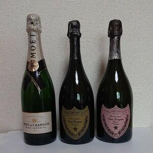 ROSE CHAMPAGNE vintage ドンペリニヨン ロゼ 空瓶
