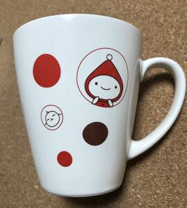 **ゆうパック送料無料** 【激レア】【未使用品】 田村みえ ずきんちゃん マグカップ 学研 日本製【希少品】
