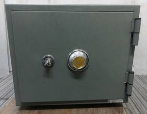 K8355c King industry dial type fire-proof safe KS-16D contents piled 16L direct pickup warm welcome Osaka * blow rice field Inter immediately