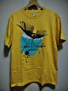 The Used Tシャツ M 黄色 ザ・ユーズド Winged Eye Tee