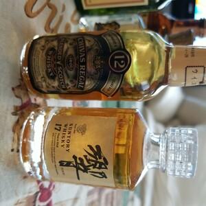 ウィスキーミニボトル11本