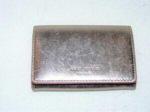kate spade NEW YORK(ケイト・スペード ニューヨーク) レザー カードケース 846393B334C03
