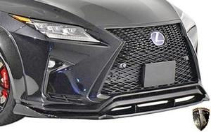 【M's】LEXUS RX 前期 RX450h RX200t F-SPORT (2015.10-2019.8) AIMGAIN 純VIP EXE フロントアンダースポイラー // エイムゲイン エアロ
