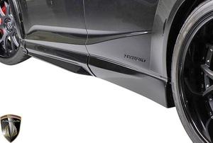 【M's】レクサス 20系 RX 前期 RX450h RX200t F-SPORT (2015.10-2019.8) AIMGAIN 純VIP EXE サイドステップ 左右 / エイムゲイン エアロ