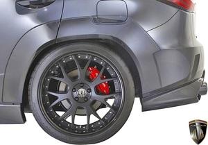 【M's】レクサス 20系 RX 前期 RX450h RX200t F-SPORT (2015.10-2019.8) AIMGAIN リアオーバーフェンダー (50mmワイド) エイムゲイン