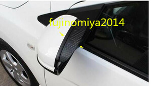 new goods Mazda MPV LY3P exclusive use side mirror rain visor carbon style left right set