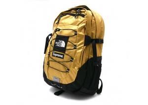 【新品送料無料】 Supreme The North Face Metallic Borealis Backpack Gold シュプリーム ノースフェイス バッグ リュック ゴールド 18ss