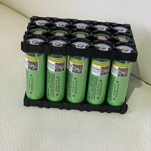 3x5バッテリースペーサー18650リチウムの組み合わせ固定ブラケット2個入り