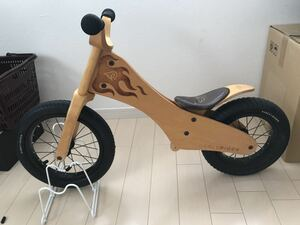 EARLY RIDER 木製 キックバイク バランスバイク アルミ 14インチ ストライダー STRIDER 自転車 ペダルなし