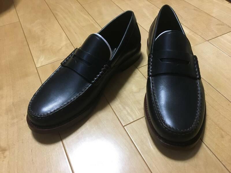 半額以下です?!⌒缕贰ˉ畅`チ 革靴 G1643 マンハッタン レザー ローファー  US10D(27~28㎝相當)