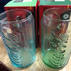 コカコーラ ガラスコップ 二個