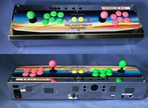 * control box * combo AV EX++ Basic ver.*VIDEO,S-VIDEO,RGB output * blast, original navy blue panel *.-...