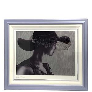 20-2129 マーティロ・マヌキアン 透明な存在 美術品 絵画 人物画 シルクスクリーン 2004年作