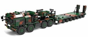 LEGO互換 ドイツ連邦軍 SLT2戦車運搬車「マムート」 総額12000円【できる範囲保証】