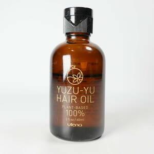 ★utena ウテナ YUZU-YU HAIR OIL ゆず油 保湿成分配合 無添加 ヘアオイル 残量6割