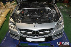 Ultraracing front strut tower bar Mercedes Benz R172 SLK200 SLK350