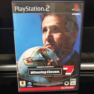 ウイニングイレブン7 サッカーゲーム PS2
