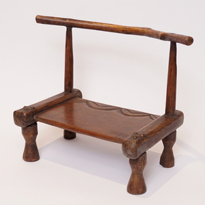 アフリカ コートジボワール ダン スツール 腰掛け 民具 椅子 ダン族