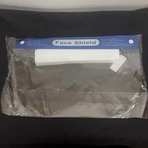 【新品】フェイスシールド ゴムバンドタイプ10枚セット 飛沫防止 安全接客 ウイルス対策 コロナ対策 ソーシャルディスタンス