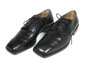 美品 ルイヴィトン 靴 レザーシューズ ビジネスシューズ 25.0cm #6 革靴 レースアップ ブラック 黒 メンズ 紳士用