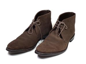 リーガル 靴 レザー ブーツ チャッカブーツ ダークブラウン スエード ショートブーツ 25.0cm 紳士用 メンズ REGAL